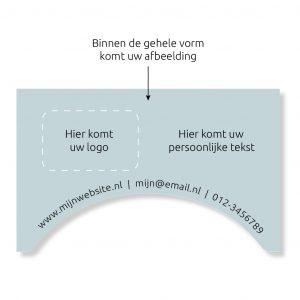 VR bril in Huisstijl